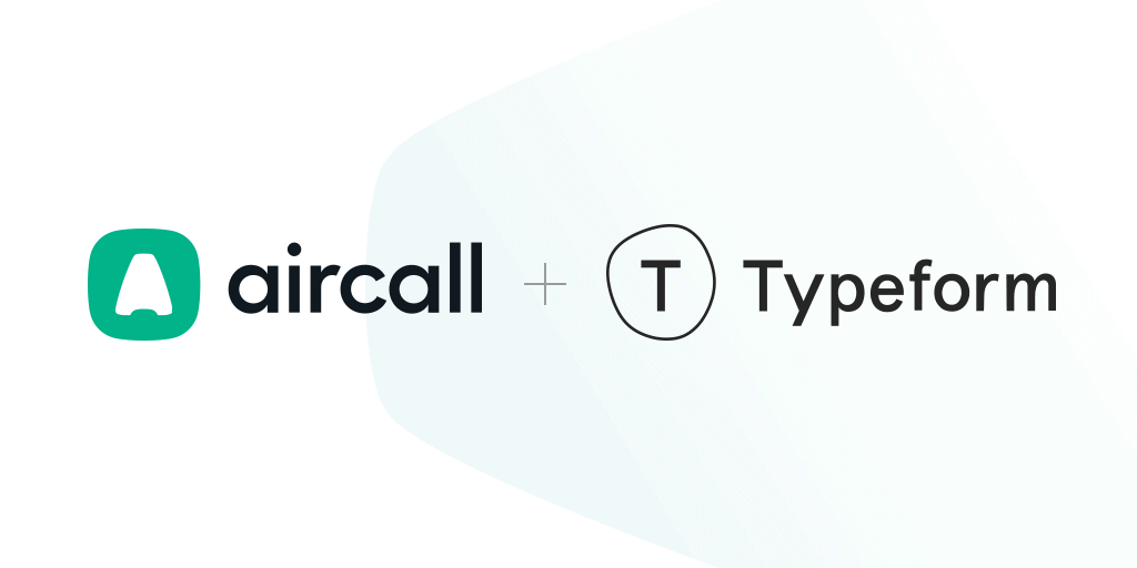 Aircall typeform integration