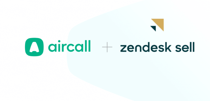 Zendesk Sell and Aircall